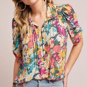 Maeve floral blouse